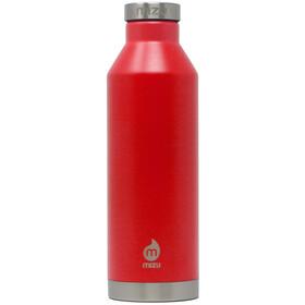 MIZU V8 Isoleret flaske 800 ml med låg i rustfrit stål, rød